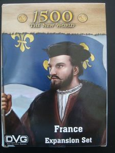 1500 : The New World - France Expansion